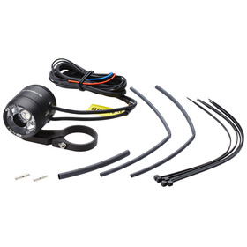 Supernova E3 Pure 3 Bike Light with handlebar mount black